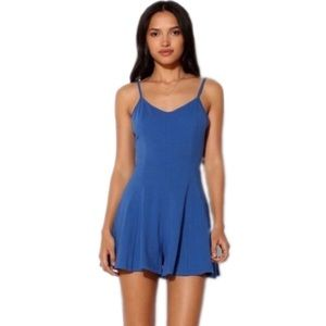 Urban Outfitters Kimchi Blue Bow Romper
